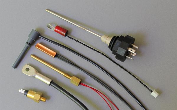 Pt100, NiCr-Ni, K, Widerstandsthermometer, Thermoelement, Fühler, Sensor